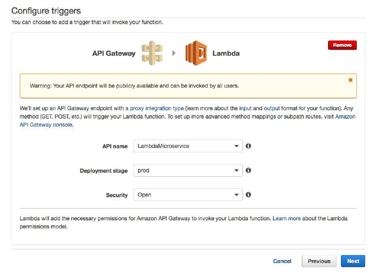 Amazon Lambda Function